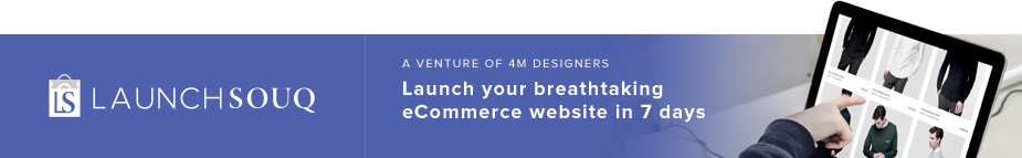 LaunchSouq - eCommerce Website Design